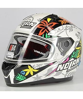 Nolan N64 Gemini Replica D. Petrucci casco integral de moto (policarbonato con sistema N