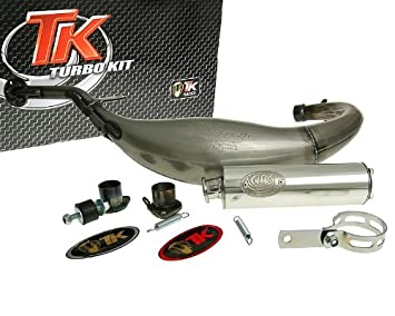 Turbo Kit Carreras 80 Tubo de escape para Aprilia RS 50, RX 50, SX