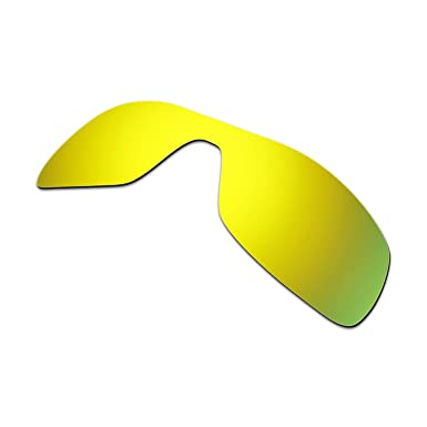 cbc0cf451085a Hkuco Mens Replacement Lenses For Oakley Antix Sunglasses 24K Gold Polarized