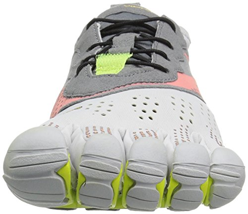 Vibram FiveFingers V-Run, Zapatillas Mujer Blanco (Oyster)