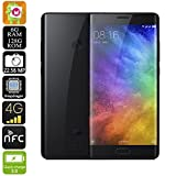 Xiaomi Mi Note 2 Smartphone - Global Edition, 4G, Snapdragon CPU, 6GB RAM, Android 6.0, Quick Charge (Black)