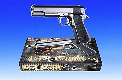 APEL PLASTIK S.r.l. Pistola de juguete de bolas, pistola BB Bullets, calibre 6 mm, incluye dardos, el mejor regalo para niños N268