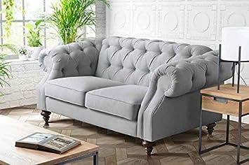 My-Furniture - Sofá Buster Málaga Steel de 2 plazas: Amazon ...