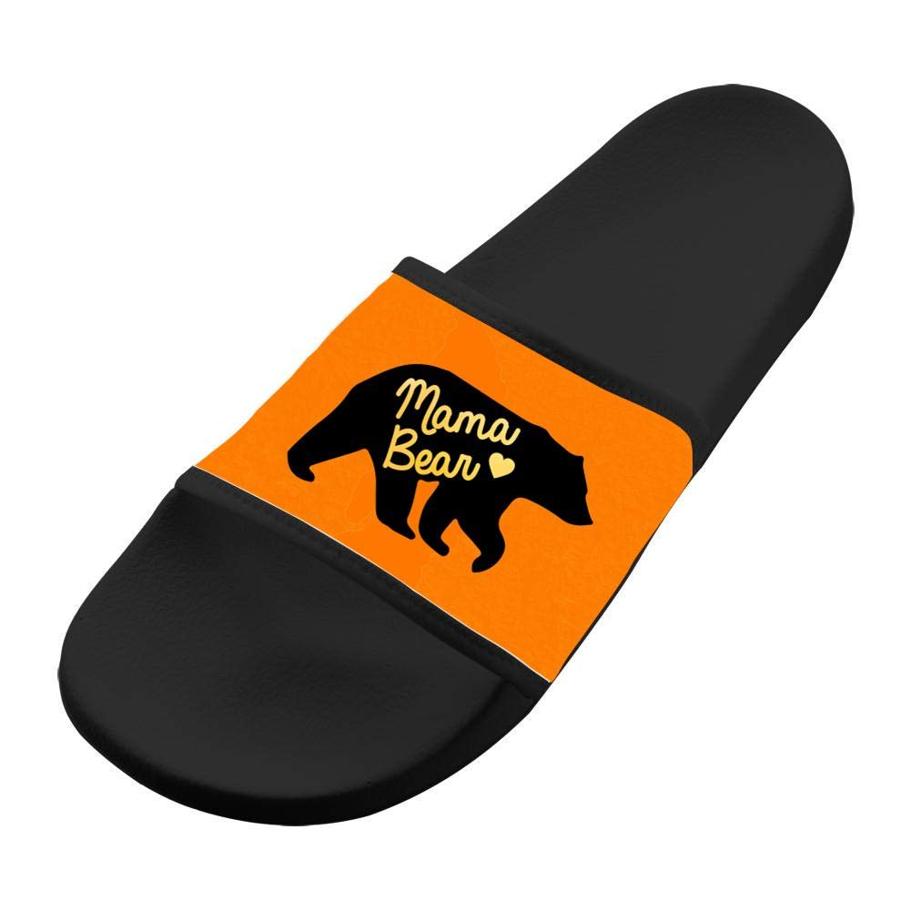 WpBenf Mama Bear Fashion Flip Flops Slippers For Boys And Girls Indoor Outdoor Home Sandals Shoes