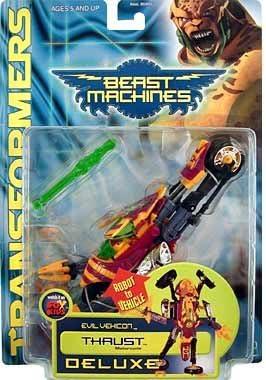 Transformers Beast Machines THRUST Complete Deluxe