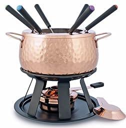 Swissmar F66915 11-Piece Biel  Meat Fondue Set, Copper