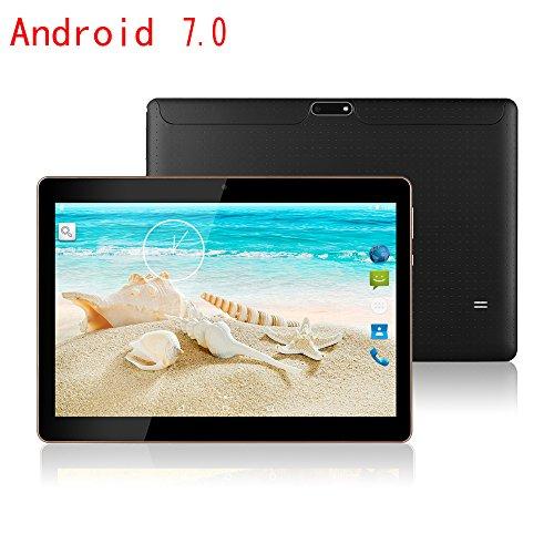 MaiTai 10 Inch Tablet Pc Android 7.0 Octa Core 1280800 IPS Tablets PC RAM 4GB ROM 64GB 8.0MP 3G MTK6592 Dual sim card Phone Call GPS Bluetooth 7 9 10.1 Black by MaiTai