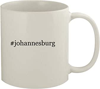 Amazon.com: #johannesburg - 11oz Hashtag White Coffee Mug