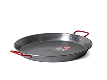 Garcima C-15RED Carbon Steel Pan
