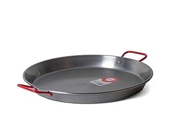 Garcima C-15RED Carbon Steel Pan