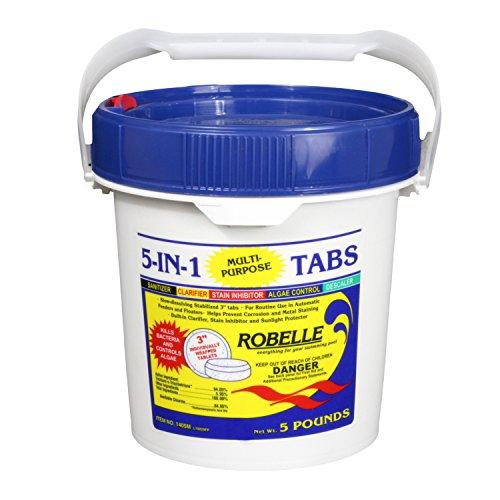 5 pounds chlorine - 9