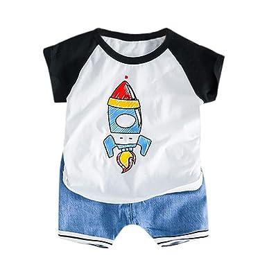 Amazon.com: Juego de 2 piezas para niños de 2019, camiseta ...