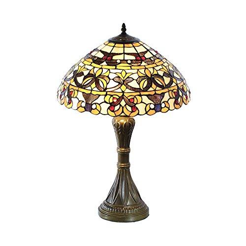 Tischlampe im Tiffany Style, Tiff129, Tischlampe Motiv Lampe , Dekorationslampe, Tiffany Style, Glaslampe, Leuchte ,Tischlampe, Stehleuchte, Stehlampe, Leuchte Lampe