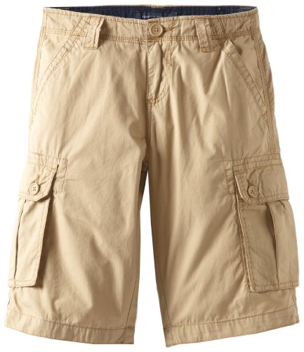 Tommy Hilfiger Big Boys' Back Country Cargo Short, Chino, 18
