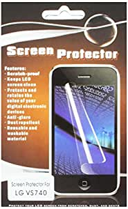 HR Wireless LG Ally VS740 Clear Screen Protector - Retail Packaging - Regular