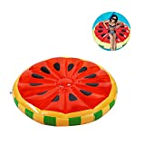 PlayMaty Inflatable Float Fruit Pool Float - Watermelon Raft Summer Outdoor Swimming Pool Toys for Adult and Kids
