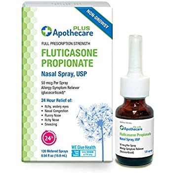 Amazon Com Apothecare Plus Fluticasone Propionate Nasal