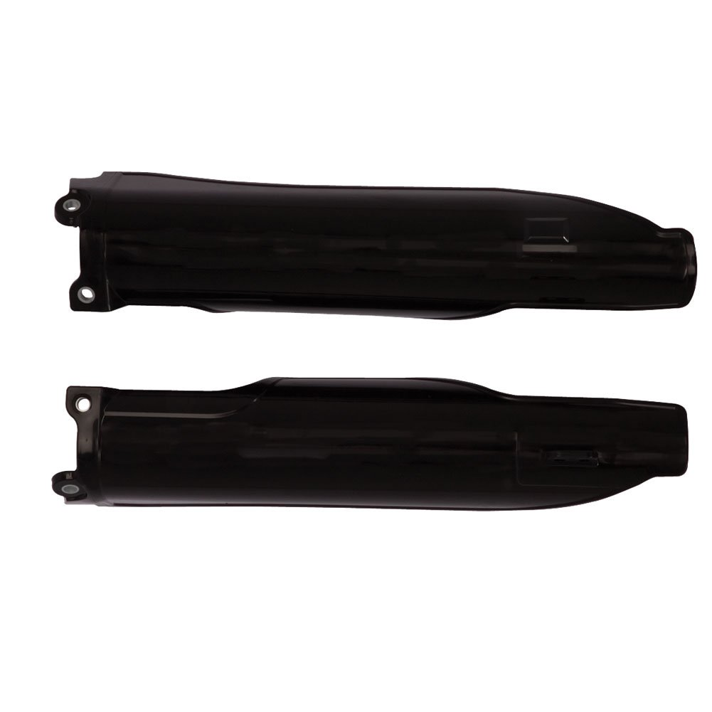 Acerbis Lower Fork Cover Set Black - Fits: Kawasaki KX250F 2006-2008