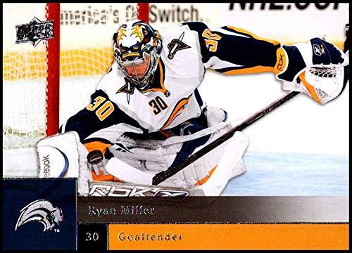 Ryan Miller Buffalo - 2009-10 Upper Deck Hockey Series 1#9 Ryan Miller Buffalo Sabres Official NHL UD Trading Card