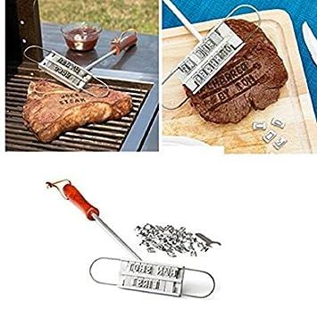 Maikerry Custom Branding Irons Bbq Branding Iron With Changeable