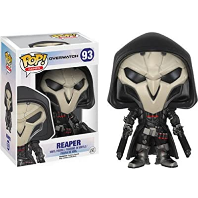 Funko Pop! Games: Overwatch Action Figure - Reaper: Funko Pop! Games:: Toys & Games