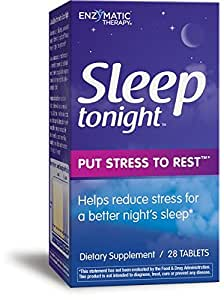 Enzymatic Therapy - Sleep Tonight, 28 Tablets -2 pack