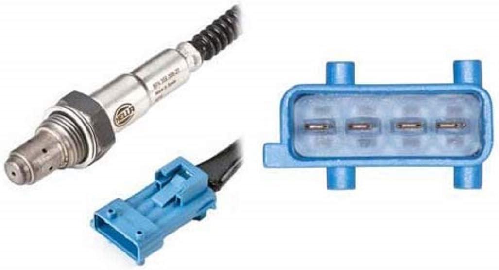 HELLA 6PA 358 066-201 Sonda Lambda cable Long 1300mm