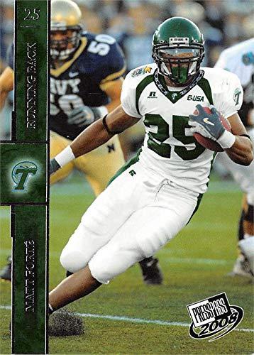 Matt Forte football card (Tulane Green Wave) 2008 Press Pass Rookie #15 ()