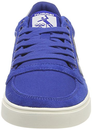 Duo Blue Baskets Hummel Blau Adulte Mixte Slimmer Stadil Low limoges Canvas SqZEvq