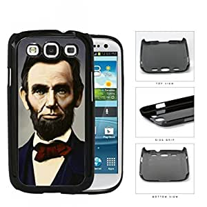 Abraham Lincoln Colored Portrait Hard Plastic Snap On Cell Phone Case Samsung Galaxy S3 SIII I9300