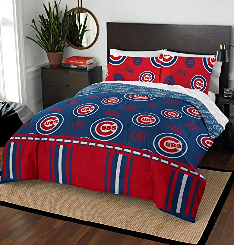 The Northwest Company MLB Chicago Cubs Queen Bed in a Bag Complete Bedding Set #797237068