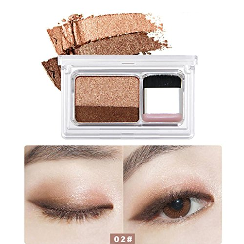 ent Stamping Eyeshadow Palette Powder Shimmering Finish | Soft Eyeshadow Duo For Better Yourself (B) (Duo Lip Colour Palette)