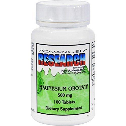 [Dr. Hans Nieper Magnesium Orotate - 500 mg - 100 Tabs] (Magnesium Orotate)