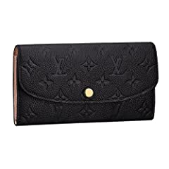 Proving that functionality and style can go together, the versatile Emilie Wallet in exquisite Monogram Empreinte leather is elegance itself.Numerous pockets and an attractive shape make it irresistible.