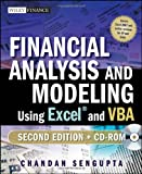 Financial Analysis and Modeling Using Excel and VBA, Chandan Sengupta, 047027560X