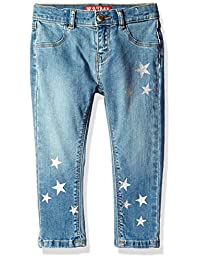 GUESS baby-girls Baby Star Skinny Jeans