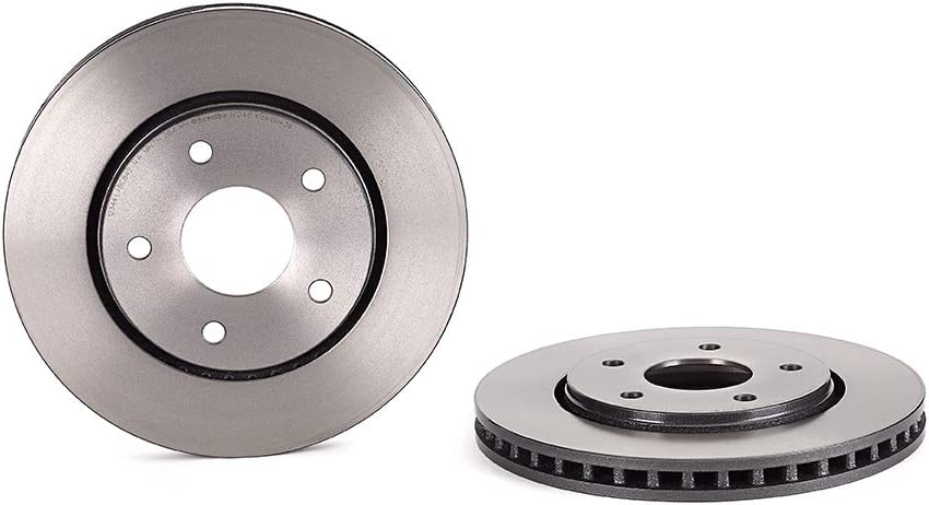 Set di 2 dischi Brembo 09.N125.11 Disco Freno Anteriore con verniciatura UV
