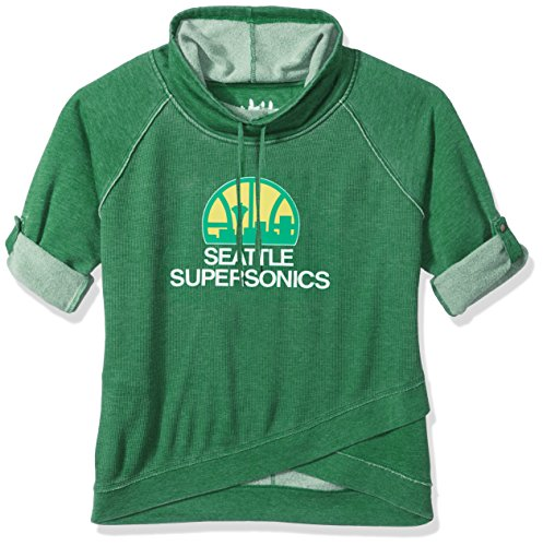 Touch by Alyssa Milano NBA Seattle Supersonics Wildcard Top Plus, 1X, Green