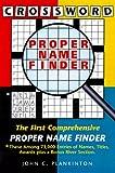 Crossword Proper Name Finder, John C. Plankinton, 0887393187
