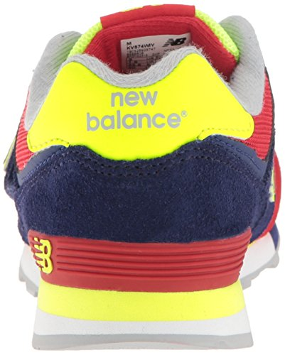 Kinder Hook Sneakers Teal Balance Unisex White New Loop Blau Rot M and Kv574cki wpSX8xqTE