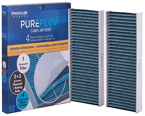 PureFlow Cabin Air Filter PC5764X | Fits 2005-18 Nissan Frontier, 2012-18 NV1500, 2012-18 NV2500, 2012-18 NV3500, 2005-12 Pathfinder, 2005-15 Xterra, 2009-12 Suzuki Equator ()