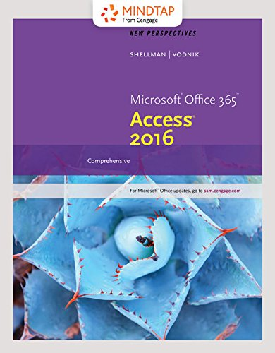 Bundle: New Perspectives Microsoft Office 365 & Access 2016: Comprehensive, Loose-leaf Version + MindTap Computing,