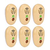 Neatmaster Ultrasonic Pest Repeller Electronic Pest Control Plug In Pest Repellent for Insects -Mosquitoes ,Mice ,Bugs , fleas , Mosquitoes and Spiders - Set of 6