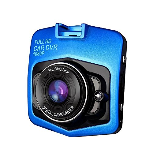 1080P 2.4inch Car DVR Camera Video Recorder (Blue) - 5