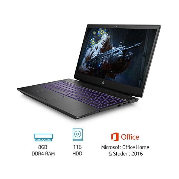 HP Pavilion Gaming 15-cx0140tx FHD Gaming Laptop (8th Gen i5-8300H/8GB/1TB HDD/NVIDIA GTX 1050 4GB Graphics/Win 10/MS… - - Laptops4Review