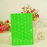 Photo Album Decorate Frame Corners Scrapbook Craft Adhesive Protector Sticker Green