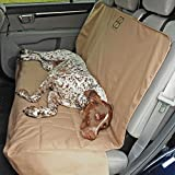 Motor Trend by Petego Rear Car Seat Protector for Pets, Tan, X-Large