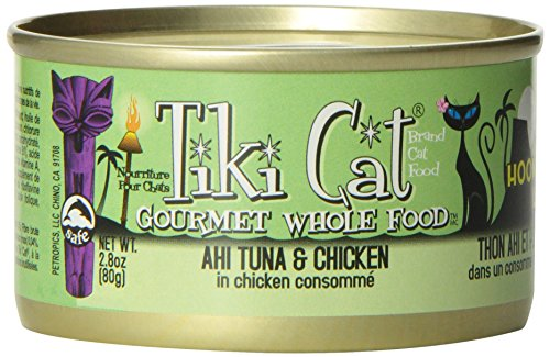 Tiki Canned Cat Food Hookena Luau