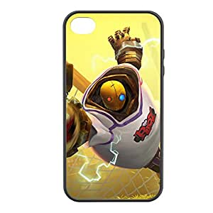 Blitzcrank-003 League of Legends LoL case cover for Apple iPhone 4 / 4S - Rubber Black