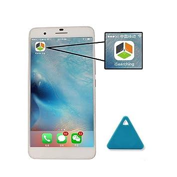 YENJOS Rastreador GPS Mini Inalámbrico Bluetooth 4.0 Anti Alarma Perseguidor Niño Anciano Perdido Recordatorio: Amazon.es: Electrónica